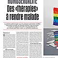 Homosexualité : des
