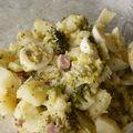 Salade printanière de pommes de terre et de brocolis