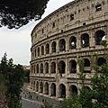 Celio - Entre parcs et églises romanes (2/10). Il Colosseo - Le Colisée.