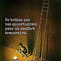 Ne brûlez pas vos opportunités pour un confort temporaire 💛💛💛...