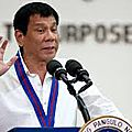 Philippines usa un france syria: president rodrigo duterte threatens to leave the whore un war maker in middle east