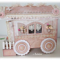 Ma roulotte shabby pour Marie-Claude