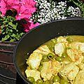 Viande : tagine de poulet aux olives et au citron confit