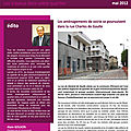 « Info-riverains », la lettre d'informations des travaux de la gare d'<b>Ermont</b>-Eaubonne