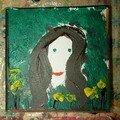 Une peinture de Charlotte, qui a 11 ans