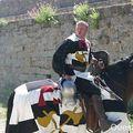 Les chevaliers de konk kerne spectacle de chevalerie, avec cascades équestres, voltiges,... - concarneau