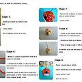 suite tutoriel boule de noël porcelaine froide P2