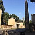 Les obélisques de <b>Rome</b> (19/28). 1827 - Viale Fiorello La Guardia (n°16).
