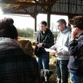 Visite à la ferme bio de mouillepied