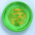 Ming dynasty. Imperial <b>green</b>-<b>ground</b> & Imperial yellow-<b>ground</b> porcelains, Six character mark of Jiajing and of the period