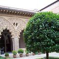 Saragosse-aljaferia patio
