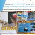 <b>Atelier</b> du 26 septembre 2009 - mini album Tahiti