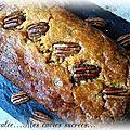 Cake fondant a la patate douce & noix de pécan