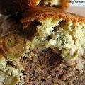 Cake à la tapenade et aux olives vertes