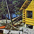 Cabane et canot
