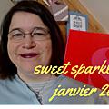 Sweet sparkle box de janvier 2017