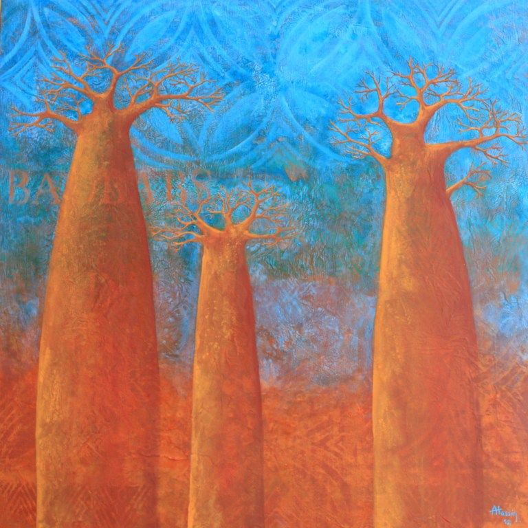 Baobabs turquoise, 2012