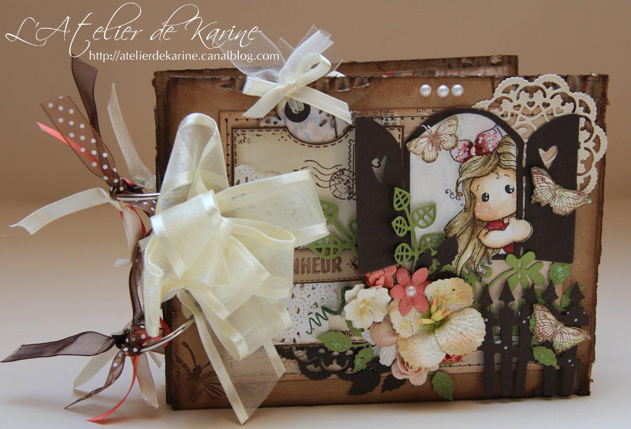 Mini album Magnolia - cadeau naissance