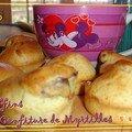 Muffins à la confiture de myrtilles, canada