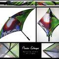 Des parapluies pour une amoureuse de la pluie !