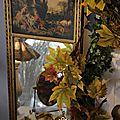 Miroir trumeau dans un jardin d'hiver