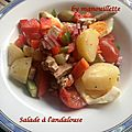 Salade à l'andalouse