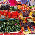 Les marchés de provence...
