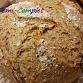 Pain semi-complet ( au thermomix )