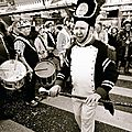 portraits attitudes sur la bande carnavalesque 2015 de <b>wormhout</b> version noir et blanc colored...