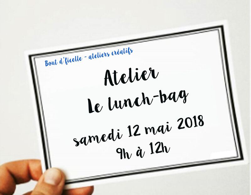 atelier lunch bag