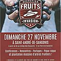 Premier festival national fruits invasion