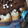 Charlotte aux poires et chocolat ou, dessert trop miam !