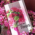 Le <b>goût</b> des fleurs - Anthologie de textes rassemblés par Sandrine Filipetti