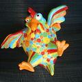 3) poule-boîte