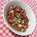La recette du jour : salade de pot au feu, vinaigrette japonaise
