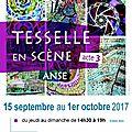 Tesselle en scène, acte 3 : exposition de mosaïques contemporaines