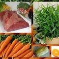 Boeuf aux carottes et à l'orange
