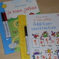 Je trace, j'efface : labyrinthes, <b>additions</b> et soustractions