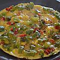 Omelette del fuego (végétarien)