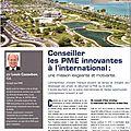 Conseiller les PME innovantes à l'international: une mission exigeante et motivante (par Louis <b>Cazaubon</b>)