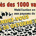 Amiens le 28/10 : procès des militants de la confédération paysanne. le parti de gauche (pg) sera présent à la mobilisation