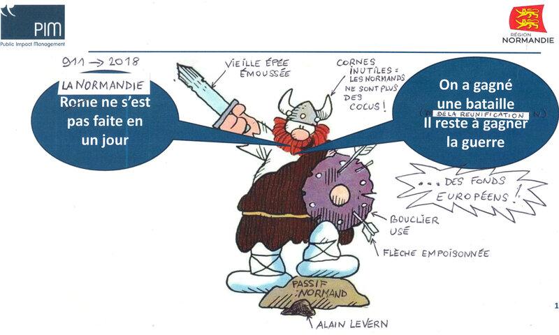 PASSIF LEVERN (suite): menacée par le départ des FONDS EUROPEENS, la région Normandie renforce son organisation