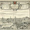 Vue de vire en 1706