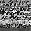 GLAGEON-Ecole maternelle 1950-1951