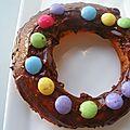 Donuts(donughts) au chocolat