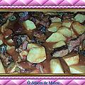 <b>Boucané</b> aux patates douces et gros piments / et brèdes mouroum'