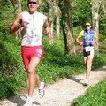 Course à pied Duathlon Annecy.