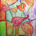 Marion Chez la fleuriste enfant