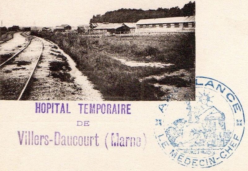 hôpital temporaire de Villers-Daucourt (Marne)