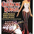 MICHAEL POWELL - les <b>chaussons</b> <b>rouges</b>